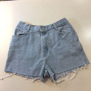 Vintage Denim Blue Gitano Cutoff Shorts